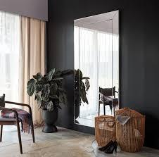 casa padrino luxus spiegel mit aluminiumrahmen 100 x h 200 cm garderobenspiegel wohnzimmer spiegel schlafzimmer spiegel luxus qualität