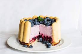 heidelbeer kühlschrank torte qimiq