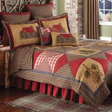 Rustic Bedding Cabin