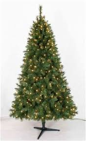 Christmas Tree 75 Pre Lit by Homebrite 12 Ft Multi Color Light Strand Christmas Tree
