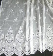 gardinen vorhänge im romantik stil fürs badezimmer günstig
