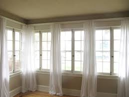Walmart Curtain Rod Clips by 5 Diy Curtains Made From Basic Flat Sheet Found At Wal Mart What