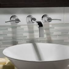 Wall Mounted Bathroom Faucets Brushed Nickel by Bathtubs Impressive Moen Bathtub Wall Faucet 80 Bathroom Sink