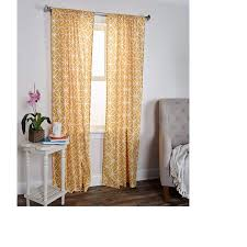 Shop Arden Loft Torsades Collection Tan Cotton Curtain Panel On