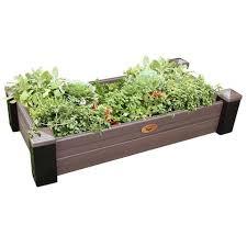 gronomics maintenance free raised garden bed 24 x 48 x 9