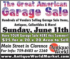 Great American Garage Sale Antique World Clarence NY
