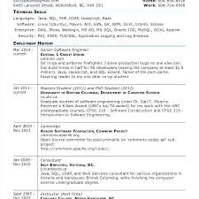 Computer Science Student Resume Scientist Templates Writing A