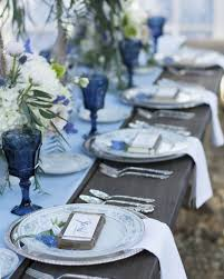 Country Blue Wedding Inspiration