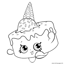 Print Ice Cream Coloring For Free Shopkins Season 5 Pages And