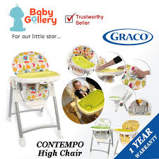 Graco Contempo High Chair Replacement Seat Cover by Qoo10 Graco Contempo Baby High Chair Fruit Kingdom Sweey Fairy