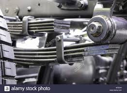 Leaf Springs Of A Truck ; Chassis Part Stock Photo: 176473812 - Alamy