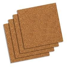 quartet cork tiles 12 x 12 frameless modular 4 pack