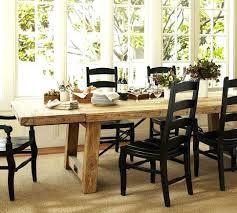 Pottery Barn Farmhouse Table Dining Room Design Ideas