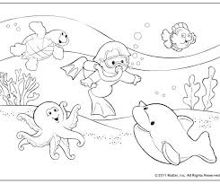 Summer Coloring Sheets For Kids Pages Page Colouring Free Printable Fun