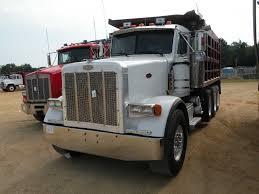 100 5 Axle Dump Truck 199 PETERBUILT 37 TRI AXLE DUMP TRUCK JM Wood Auction Company