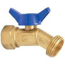 Everbilt 3 4 in Brass 1 4 Turn FPT x MHT No