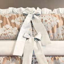 Bratt Decor Crib Skirt by Royal Duke Nursery Collection