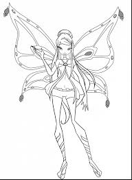 Marvelous Winx Club Coloring Pages Only With And