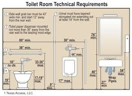 Ada Restroom Sign Mounting Height by Best 25 Ada Bathroom Requirements Ideas On Pinterest Ada