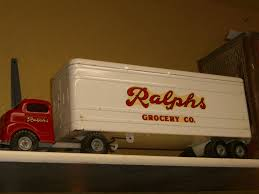 Rare Structo Ralph's Grocery Truck - Automotive Toys Misc ... Scotts Semi Trucks Youtube Dump Trailers For Sale Sk Toy Truck Forums Kingtoy Detachable Kids Electric Big Rc Truck Trailer Wyatts Custom Farm Toys Dodge Wood Farm Truck Ecofriendly Wooden Toy Car For Organic Pin By Rember When Shoppe On Vintage Matchbox Cars My Obsession Fun A Dealer Buddyl Super Brute Toy If I Had A Secret Amazoncom Daron Ups Die Cast Tractor With 2 Games State Light And Sound Cat N Awesome 1950s Restored Tonka Us Mail Sinas Structo Struco Carrier