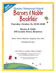 Barnes & Noble copy Thacher Montessori School