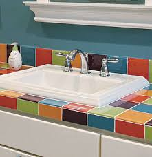 Drop In Bathroom Sink With Granite Countertop by What U0027s The Difference Bathroom Sinks Seven Basic Styles Fine