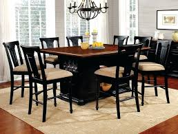 Dining Sets 9 Piece Counter Height Set With Leaf White Table