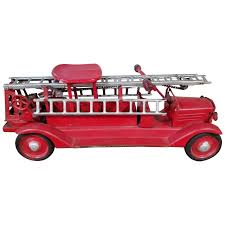 100 Toy Fire Truck LargeScale Keystone RideOn For Sale At 1stdibs