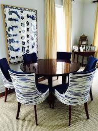 Custom Fabric Upholstered Dining Chairs Incredible ...