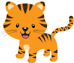 Simplistic Baby Tiger Clipart 29 In Clipart With Baby Tiger