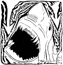 100 Ideas Jaws Coloring Pages To Print On Halloweencolorus