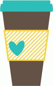 Paper Coffee Cup Silhouette
