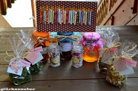 glückszauber geschenke aus der küche zum geburtstag
