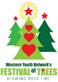 Christmas Tree Farms In Boone Nc by Festival Of Trees Western Youth Network