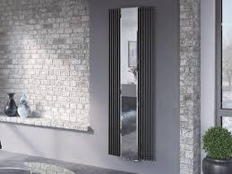 röhrenheizkörper mit spiegel 180 x 60 cm bad design