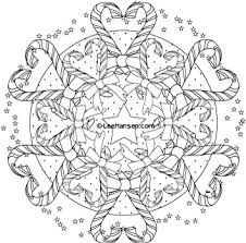 Get The Latest Free Christmas Candy Cane Mandala Colouring Page Images Favorite Coloring Pages To Print Online By