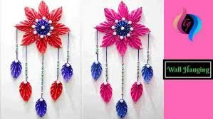 Simple Decor Wall Hanging Flower Diy Paper Crafts For Home Decoration Hangings