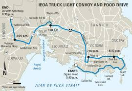 Annual Truck Light Convoy And Food Drives Goes Saturday – Victoria News