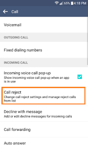 How to block in ing calls on an LG smartphone TheCellGuide