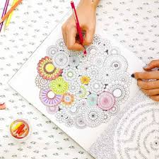 Secret Garden Colouring Book An Inky Treasure Hunt And Coloring Original Korea