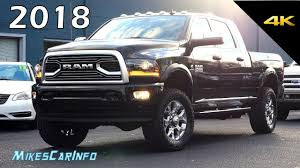 100 Build Your Dodge Truck Latest RAM 2018 RAM 2500 Limited Tungsten Quick Look In 4K