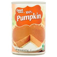 Libbys Pumpkin Orange Cookies by Great Value 100 Pumpkin 15 Oz Walmart Com