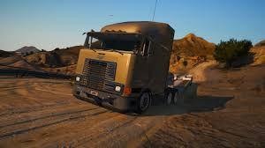 100 Navistar Truck International 9800 Addon Version GTA5Modscom