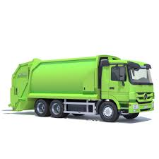 100 Rubbish Truck 3D Model Mercedes Actros Garbage CGTrader