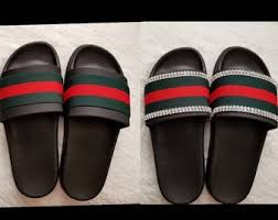 Gucci Inspired Slides Men Women Unisex Designer Shoes Beach Pool