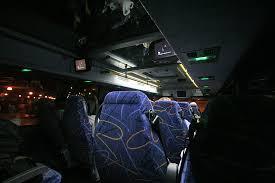 benedetina bathrooms on megabus