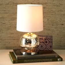 Small Fillable Glass Table Lamp by Small Glass Table Lamp With Mini Abacus Mercury West Elm And 1 O