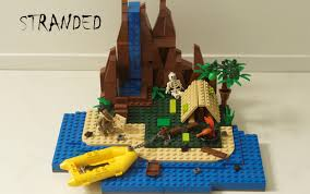 Lego Ship Sinking 2 by Lego Ideas Stranded The Island The Danger The Bricks