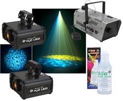 American DJ 2 H20 LED Water Ripple Effect Light & Dyno Fog II
