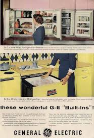 After I Found The 1955 Ad Online Then Went Into My Stash Of Vintage Marketing Materials And Super Quick Located Several Ads For GEs Kitchen Appliances